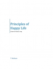 Principles of Happy Life (eBook)