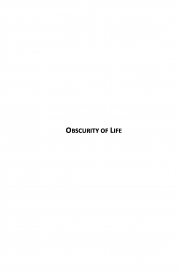 Obscurity of Life (eBook)
