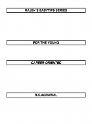 RAJEN'S EASYTIPS FOR THE CAREER-ORIENTED (eBook)