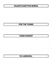RAJEN'S EASYTIPS FOR THE FOOD-CHOOSY (eBook)