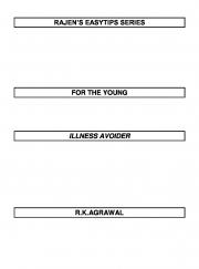 RAJEN'S EASYTIPS FOR THE ILLNESS AVOIDER (eBook)
