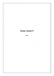 Lyrics of Home Alone (eBook)