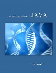 Bioprogramming in JAVA (eBook)