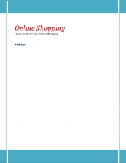 Online Shopping (eBook)
