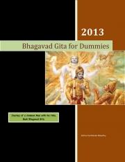 Bhagavad Gita for Dummies (eBook)