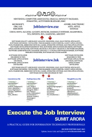 JobInterview.exe| Execute the Job Interview - Second Edition (May 2013)