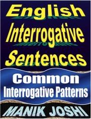 English Interrogative Sentences (eBook)