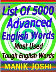 List of 5000 Advanced English Words (eBook)