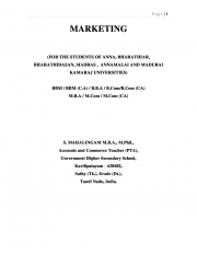MARKETING (eBook)
