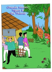 Chandu Nandu, Tigers and the Thieves