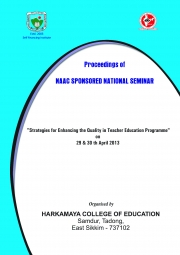 Strategies for Enhancing the Quality in Teacher Education Programme""