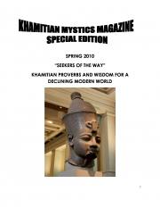 KHAMITIAN MYSTICS MAGAZINE (eBook)