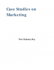 Case Studies on Marketing (eBook)