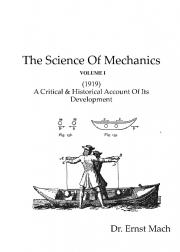 The Science Of Mechanics ( Volume I )