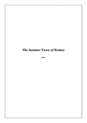 The Summer Vows of Romeo (eBook)
