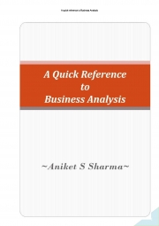 A Quick Reference to Business Analysis (eBook)
