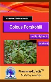 Coleus Forskohlii - As Hypolipidemic