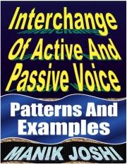 Interchange of Active and Passive Voice (eBook)