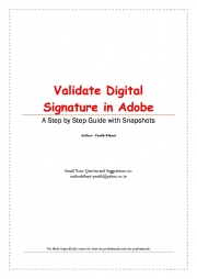 Validate Digital Signature in Adobe (eBook)