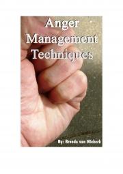 Anger Management Techniques (eBook)