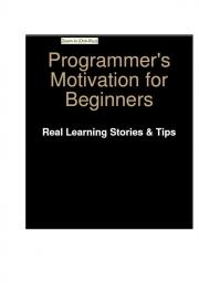 Programmer's Motivation for Beginners (eBook)