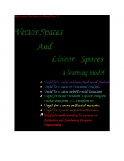 Vector Spaces and Linear Spaces 2nd edition (eBook)