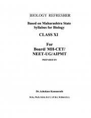 BIOLOGY REFERESHER (eBook)