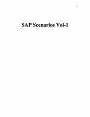 SAP Scenarios Vol-1 (eBook)