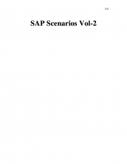 SAP Scenarios Vol-2 (eBook)
