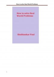 How to solve Real World Problems (eBook)
