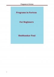 Programs in Fortran (eBook) eBook | Pothi com