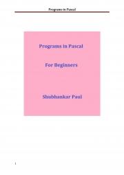 Programs in Pascal (eBook)