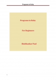 Programs in Ruby (eBook)