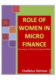 ROLE OF WOMEN IN MICRO FINANCE (eBook)