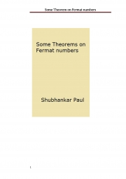 Some Theorem on Fermat numbers (eBook)