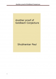 Another proof of Goldbach Conjecture (eBook)