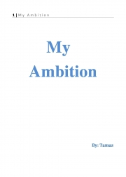 My Ambition (eBook)