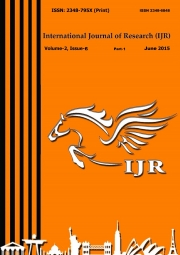International Journal of Research, June 2015 Part-1