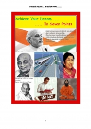 Achieve Your Dream ... In Seven Points (eBook)