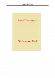Some Theorems (eBook)