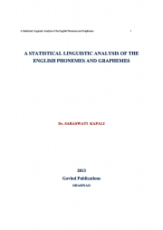 A STASTISTICAL LINGUISTIC ANALYSIS OF THE ENGLISH PHONEMES AND GRAPHEMES (eBook)