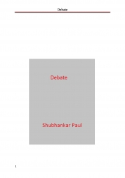 Debate (eBook)