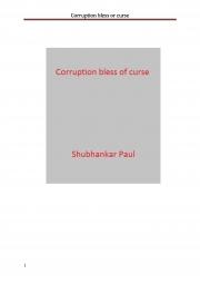 Corruption bless or curse (eBook)