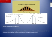 Skewness and Measures of Skewness by Karl Pearson, Bowley and Kelly Method (eBook)