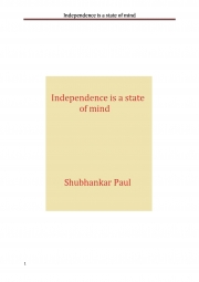 Independence is a state of mind (eBook)