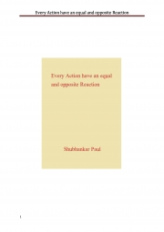 Every Action have an equal and opposite Reaction (eBook)