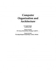 Computer Organization and Architecture (eBook)