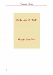 The barrier of Black (eBook)