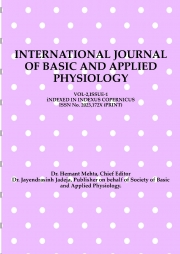 International Journal Of Basic and Applied Physiology, Vol.2,Issue.1