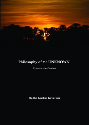 Philosophy of the Unknown